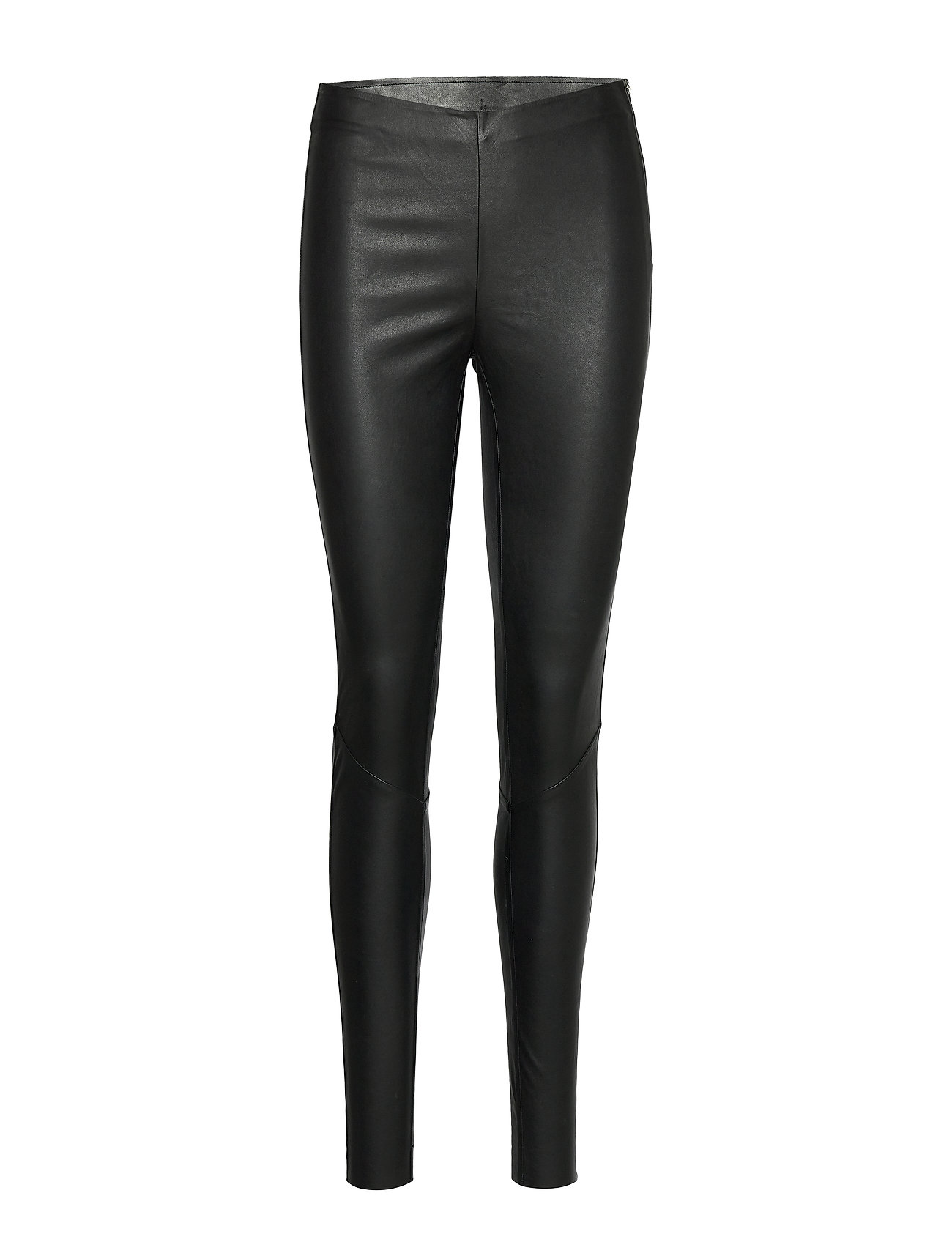 Image of Yaszeba Stretch Leather Legging Noos Leather Leggings/Bukser Sort YAS (3406284081)