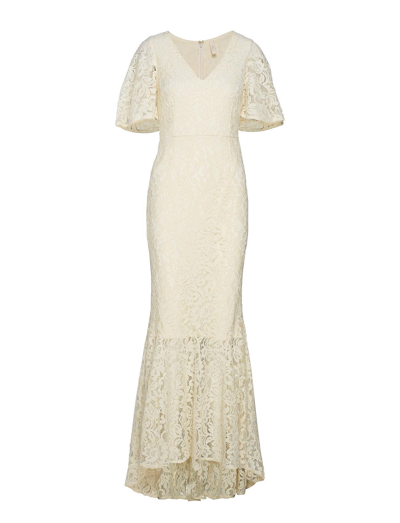 29af0c9bdbe Y.A.S maxikjoler – Yasradic Lace Maxi Dress til dame i ANTIQUE WHITE ...