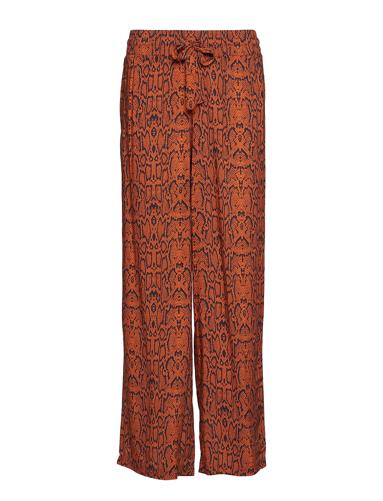 YAS YASPYTHO WIDE PANT FT - BOMBAY BROWN