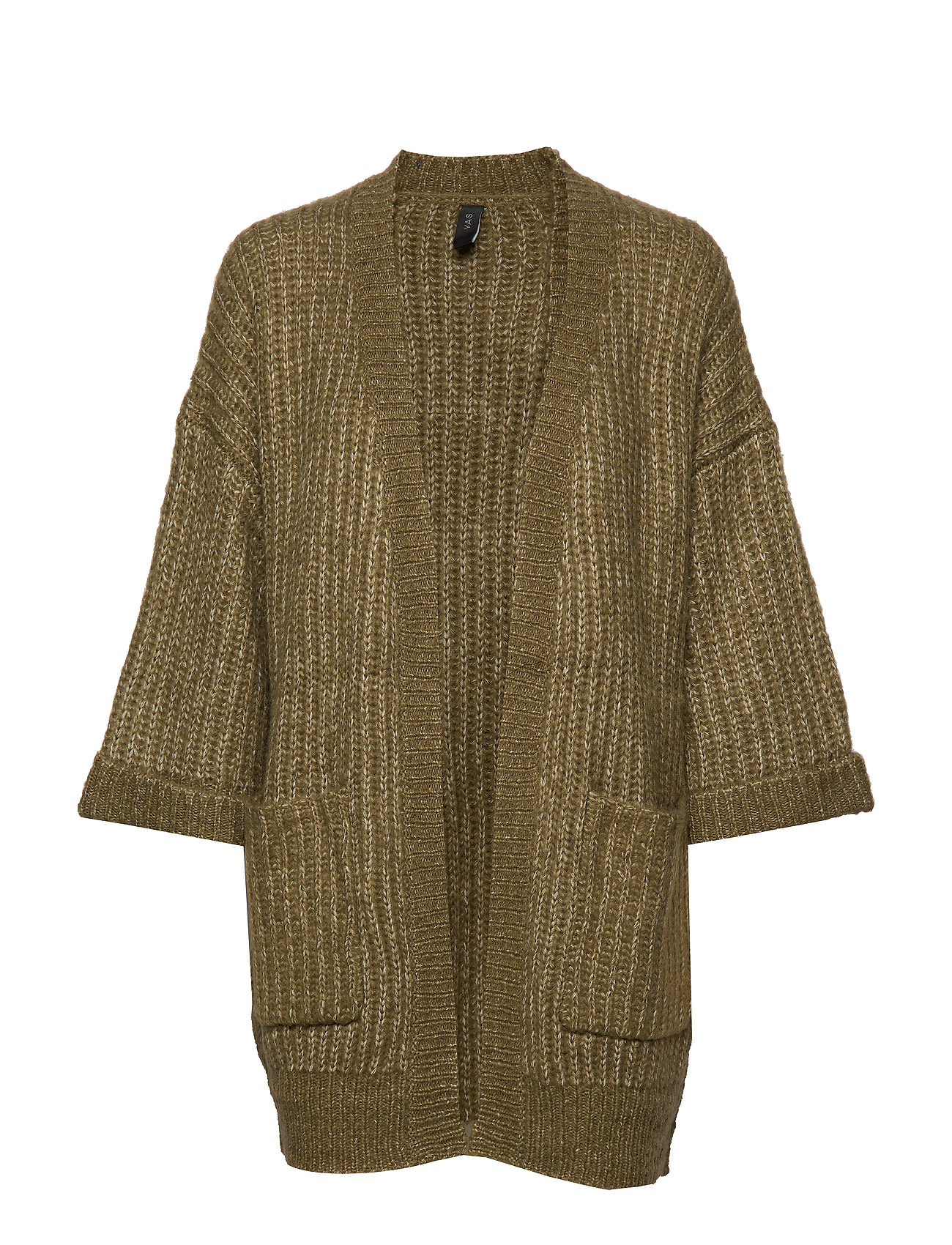 YAS YASSUNDAY KNIT CARDIGAN - MILITARY OLIVE