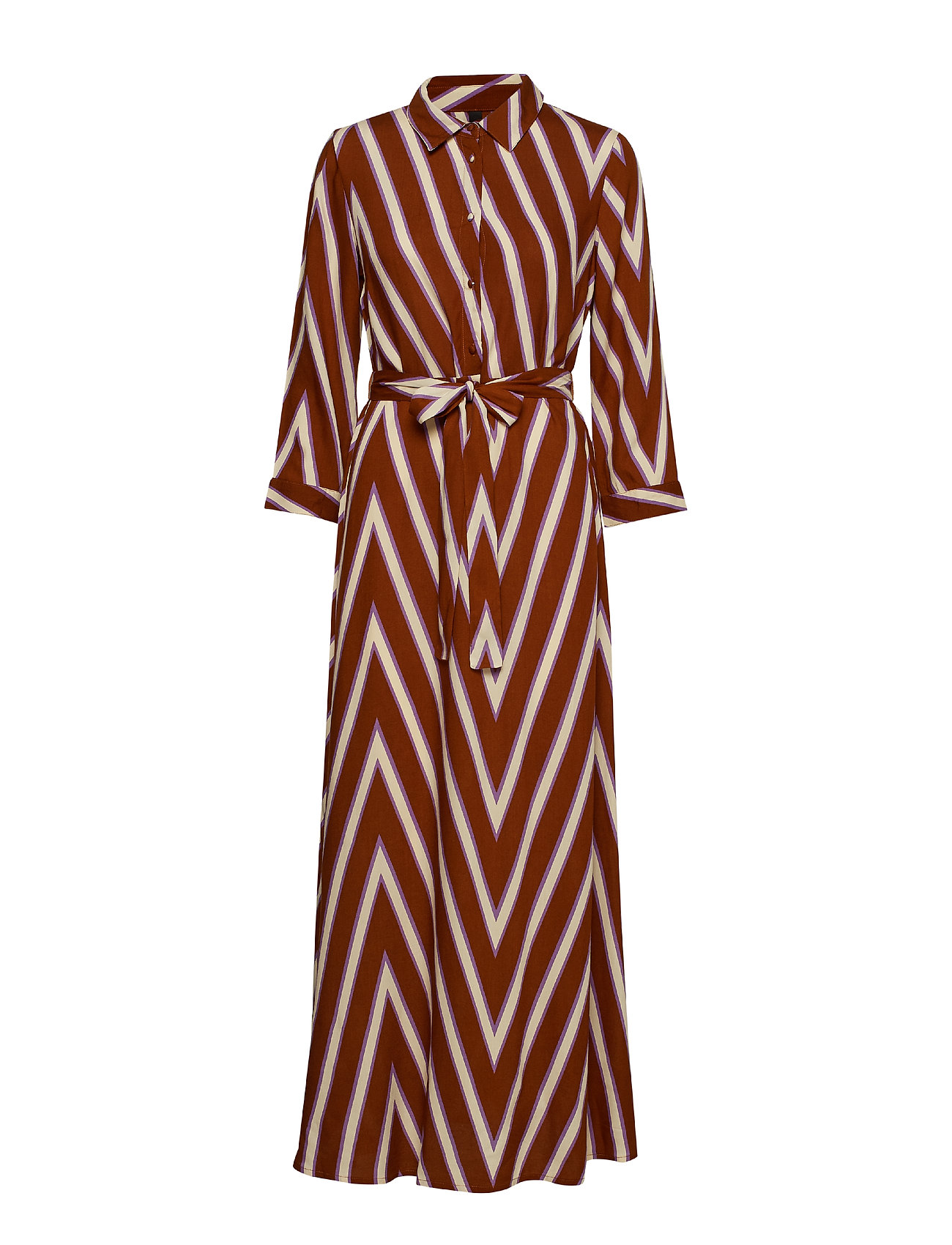 6856ac62 PAISLEY PURPLE Y.A.S Yasella Long Shirt Dress D2d maxikjoler for ...