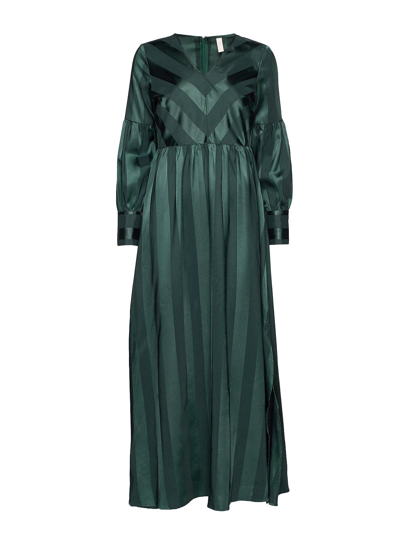 YAS YASAUDREY LS MAXI DRESS - SHOW - GREEN GABLES