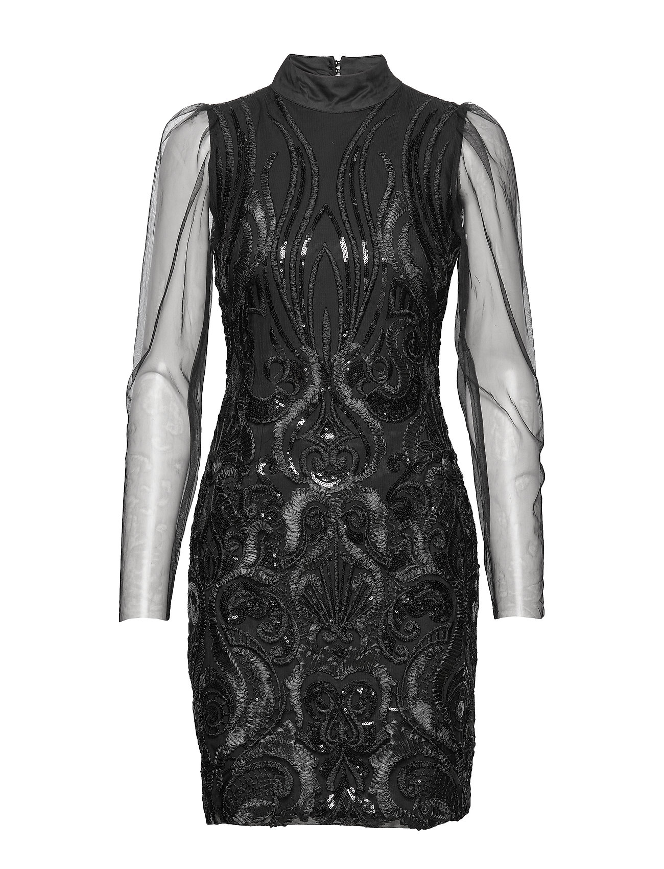YAS YASAVA LS DRESS - SHOW - BLACK