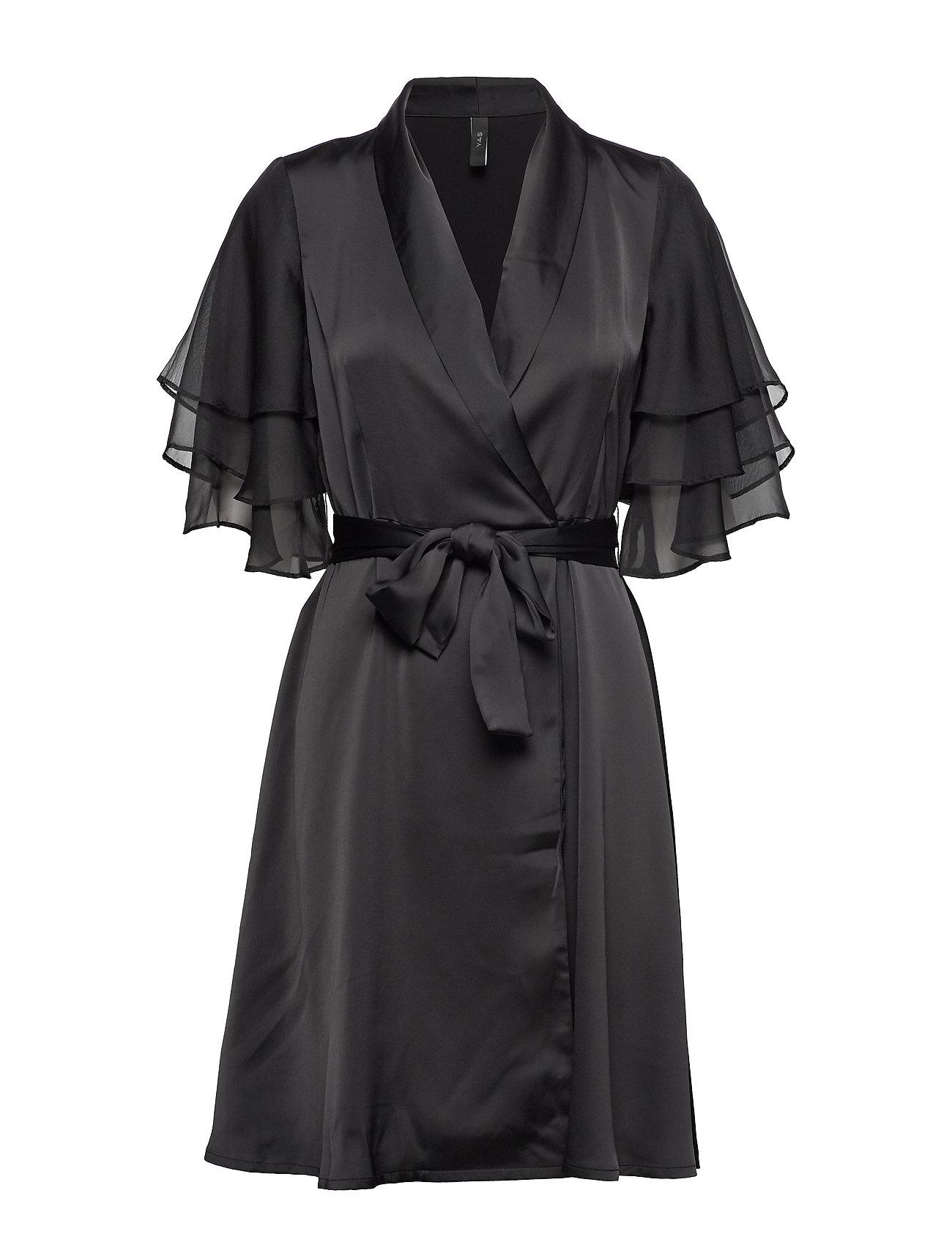 YAS YASABIGAIL SS DRESS - BLACK