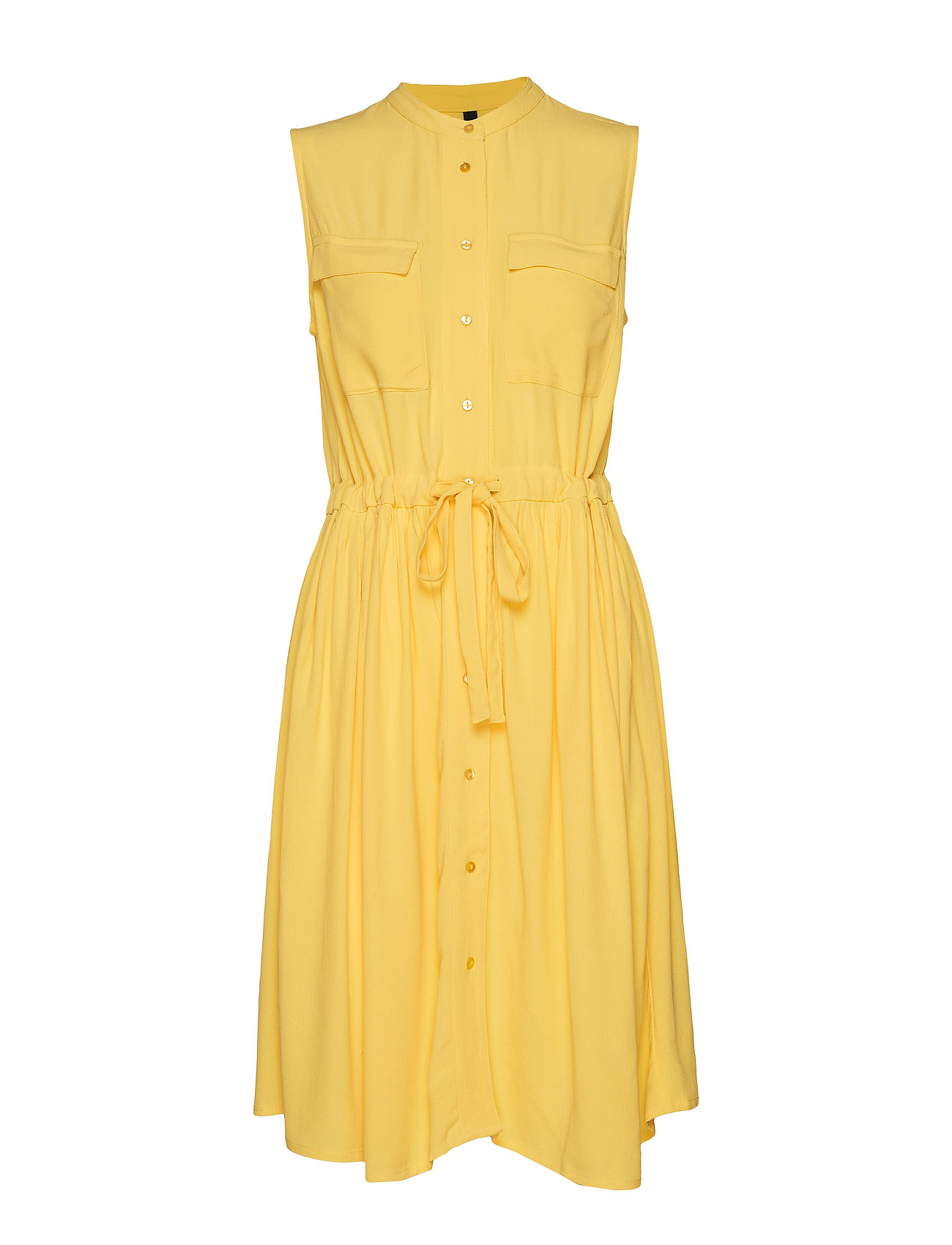 YAS YASNEELA SL DRESS VIP - PRIMROSE YELLOW