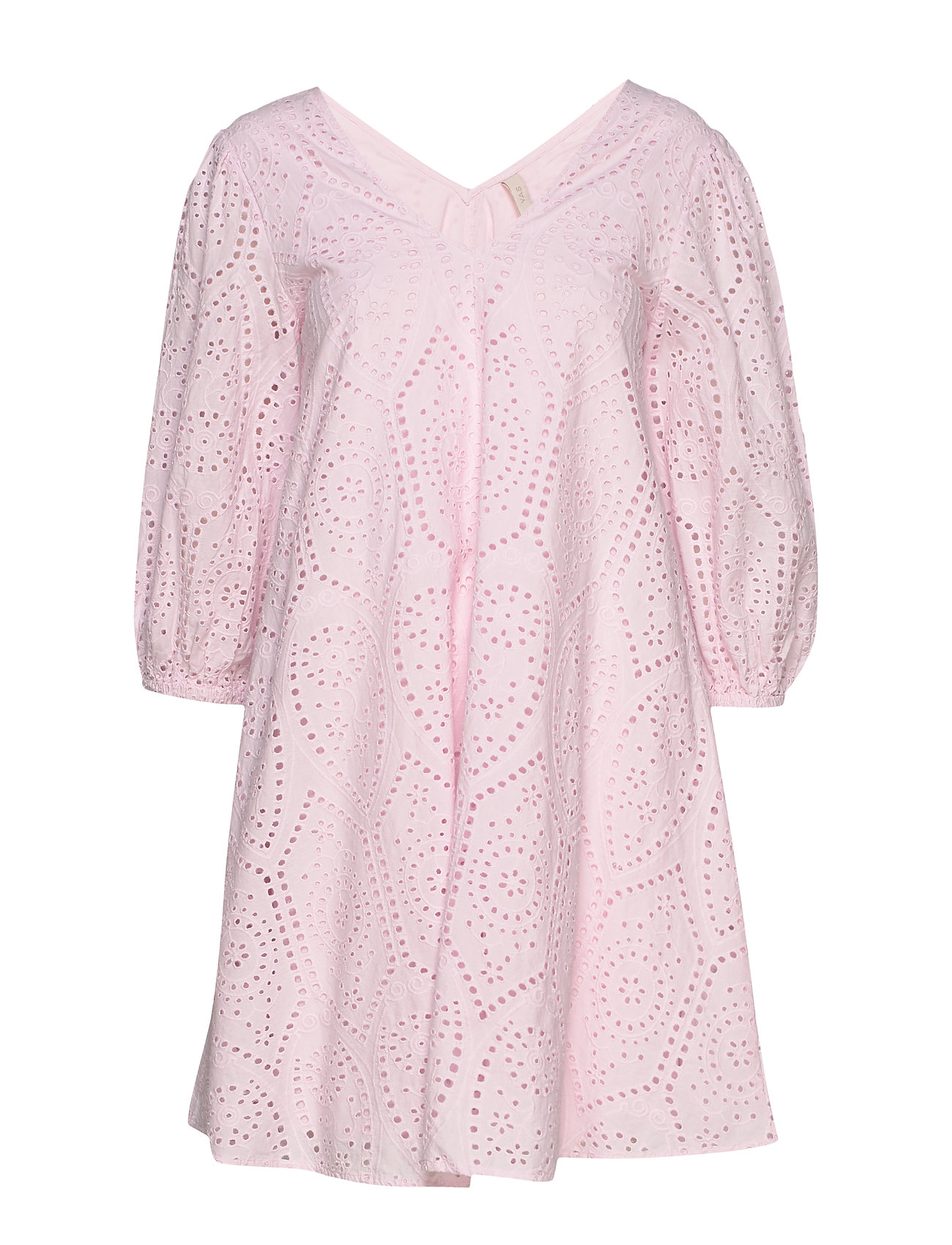 YAS YASPENNY 3/4 DRESS S. - CRADLE PINK
