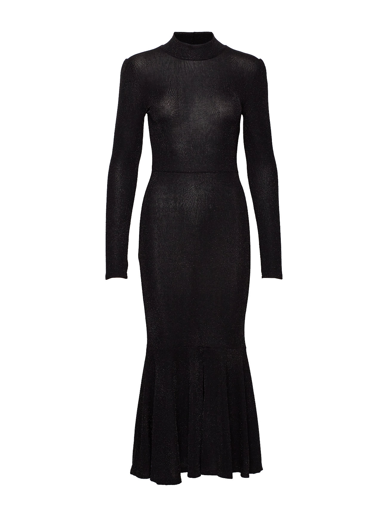 YAS YASBYRA LS DRESS BOOZT D2D - BLACK