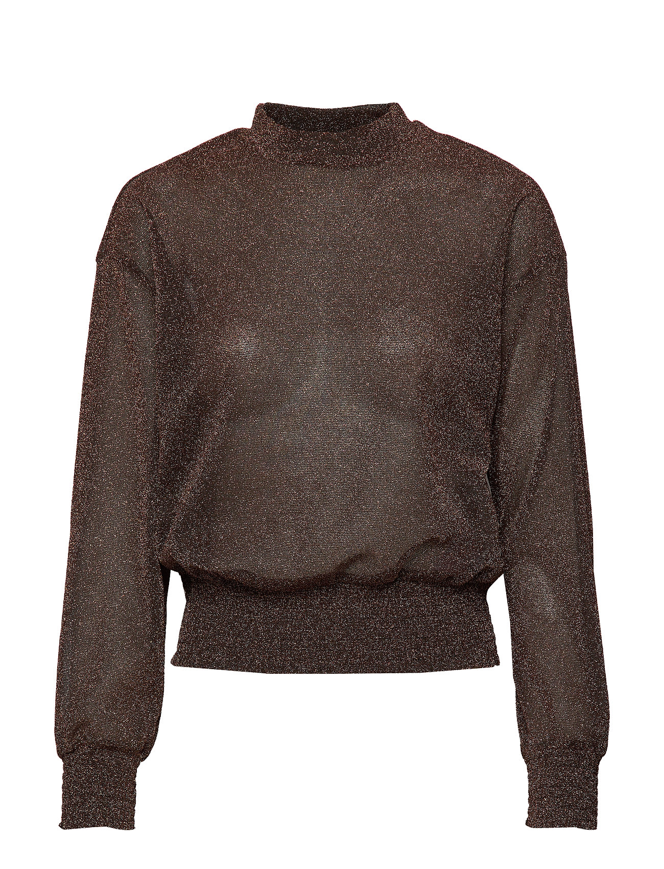 YAS YASMETTE LS TOP BOOZT D2D - COPPER COLOUR