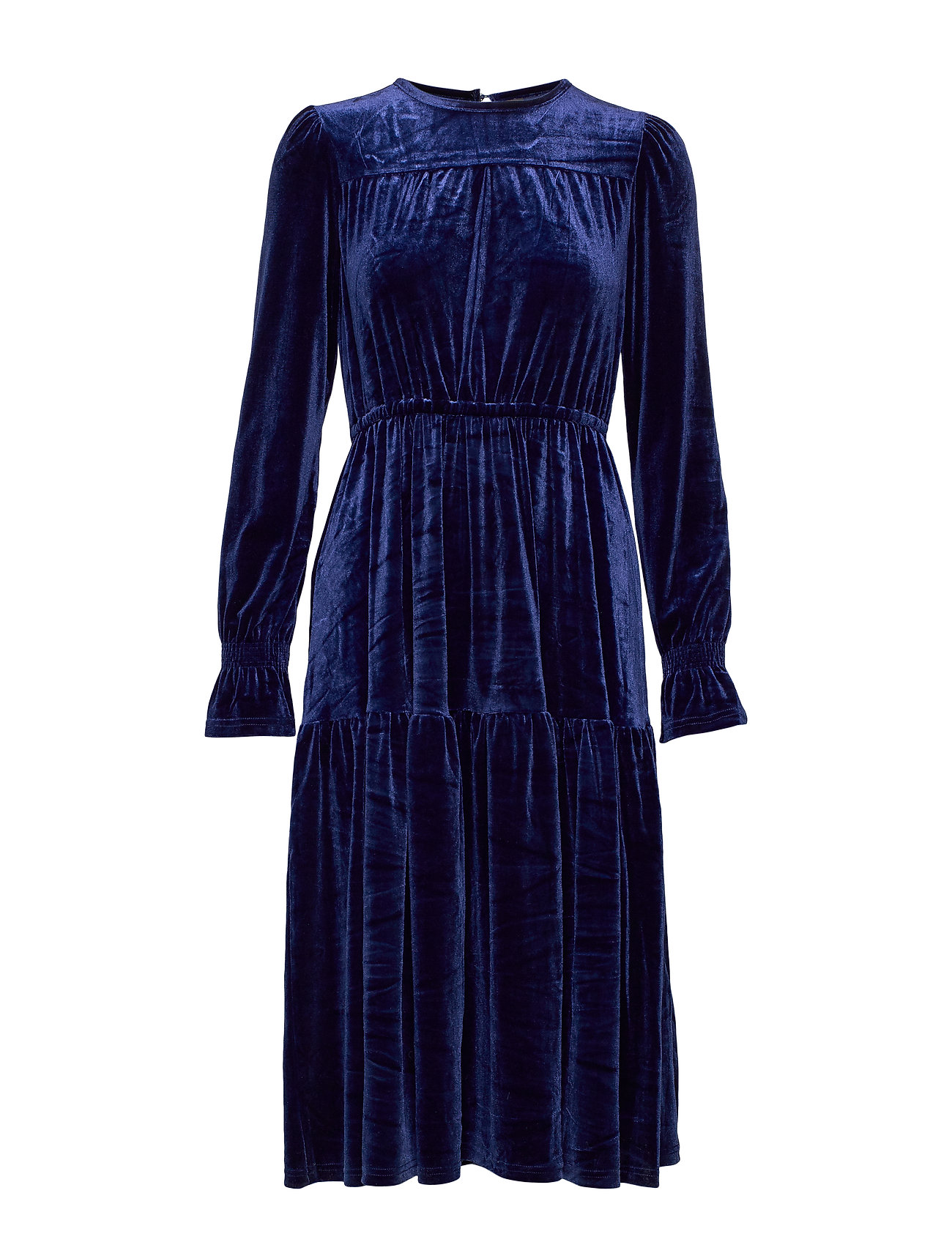 YAS YASBIRCA LS DRESS BOOZT D2D - NAVY BLAZER