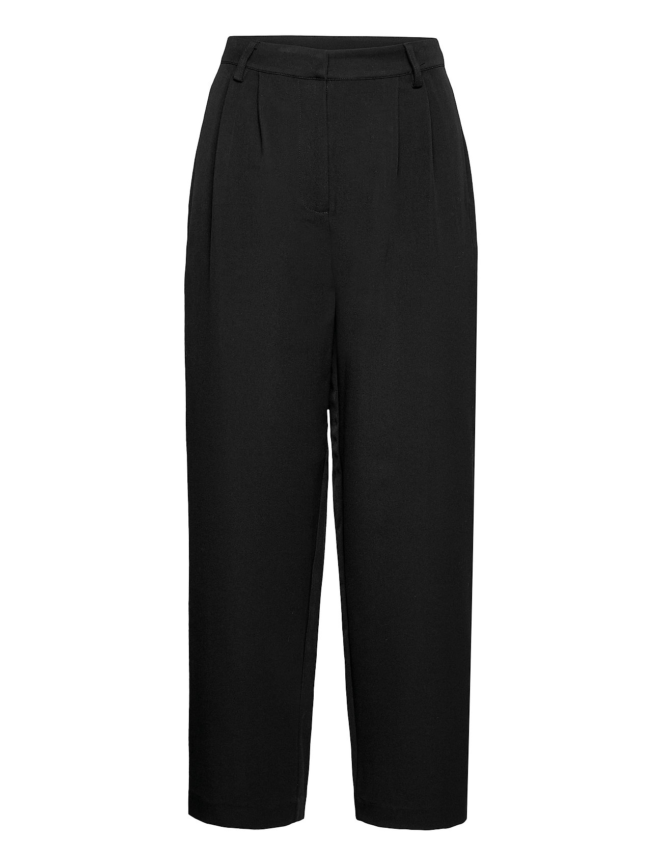 Yascornflower Hw Cropped Pant - Ca Vide Bukser Sort YAS