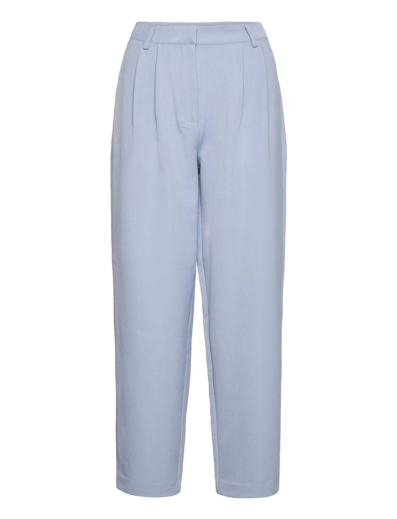 Yascornflower Hw Cropped Pant - Ca Vide Bukser Blå YAS