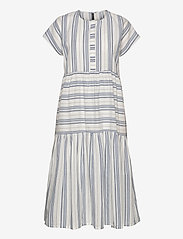 YAS - YASBREEZA SS MIDI DRESS - ICONS S. - midi dresses - star white - 0