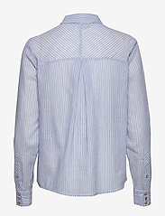 YAS - YASCLOUD LS SHIRT - ICONS S. - long-sleeved shirts - dark denim - 1
