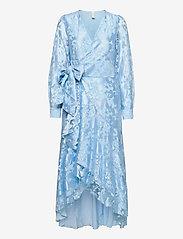 YAS - YASWENDY LS ANKLE DRESS - SHOW - kveldskjoler - dusty blue - 0