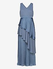 YAS - YASDORY SL MAXI DRESS - SHOW - maxi dresses - blue heaven - 0