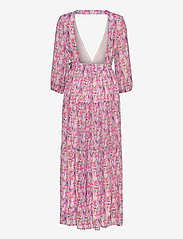 YAS - YASESMERALDA WRAP 3/4 DRESS - SHOW S. - maxi dresses - cradle pink - 1