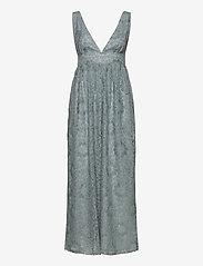 YAS - YASCHESHIRE SL MAXI DRESS - SHOW - maxi kjoler - blue heaven - 0