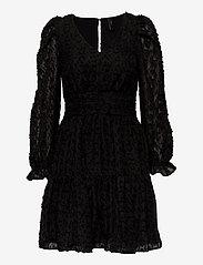 YAS - YASVIVIAN LS DRESS - cocktail-kjoler - black - 0