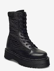 YAS - YASMONTRO BOOTS - platta ankelboots - black - 1