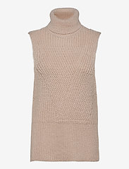 YAS - YASBRAVO SL KNIT VEST - knitted vests - whisper pink - 0