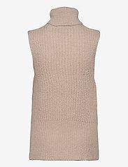 YAS - YASBRAVO SL KNIT VEST - knitted vests - whisper pink - 1