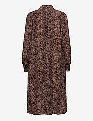 YAS - YASLAIVO LS MIDI SHIRT DRESS S. - alledaagse jurken - mocha mousse - 1