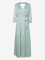 YASLUMEN WRAP 3/4 MAXI DRESS - SHOW - STARLIGHT BLUE