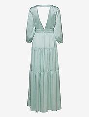 YAS - YASLUMEN WRAP 3/4 MAXI DRESS - SHOW - sommerkjoler - starlight blue - 1