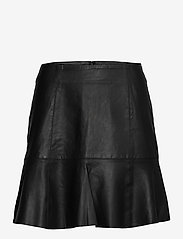 YAS - YASCOLLY MW NAPLON SKIRT - - korta kjolar - black - 0