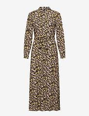 YAS - YASNULA LS LONG DRESS S. - sommerkjoler - black - 0