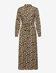 YAS - YASNULA LS LONG DRESS S. - alledaagse jurken - black - 0