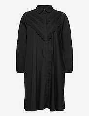 YAS - YASHANA 7/8 SHIRT DRESS S. -  CA - alledaagse jurken - black - 0