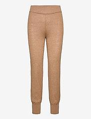 YAS - YASRONJA KNIT PANT- LW - sweatpants - tawny brown - 0