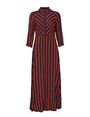 YASSAVANNA LONG SHIRT DRESS - CARBON