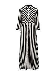 YASSAVANNA LONG SHIRT DRESS - STAR WHITE