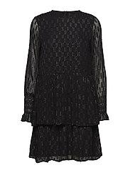 YASADELE LS  DRESS - BLACK