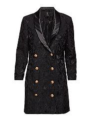 YASPLAIR BLAZER DRESS - DA - BLACK