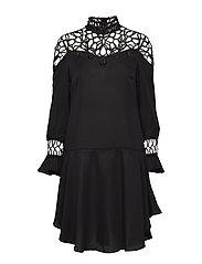 YASDAIDEN L/S DRESS - DA - BLACK