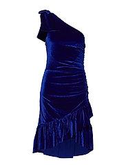 YASVELORA ONE SHOULDER DRESS - DA - MAZARINE BLUE
