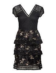 YASYLVALI LACE DRESS - DA - BLACK