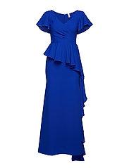 YASOLYMPIA S/S DRESS - DA - MAZARINE BLUE