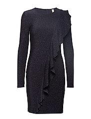 YASYANNA L/S JERSEY DRESS - DA - NIGHT SKY