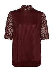 YASBLACE LOOSE TOP - PORT ROYALE