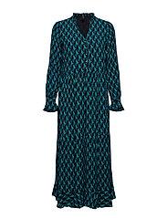 YASGRAFFY LS DRESS - BOTANICAL GARDEN