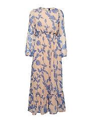 YASBEATEA LS MAXI DRESS - AMBERLIGHT