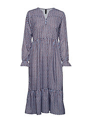 YASARROW LS DRESS FT - ALLURE
