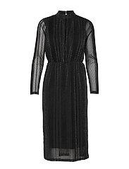 YASDIANE LS DRESS- SHOW - BLACK