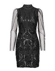 YASAVA LS DRESS - SHOW - BLACK