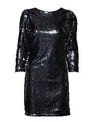 YASBETTE 7/8 DRESS - SHOW - BLACK