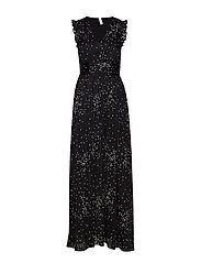 YAS YASGRETA MAXI DRESS - SHOW - BLACK